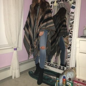 Fall Topshop Poncho / Cape